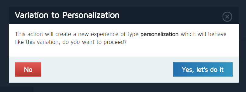 VariationToPerzonalizationConfirmation.png